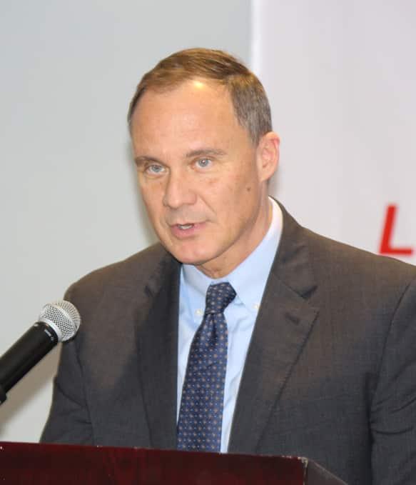 U.S. Ambassador Michael Raynor